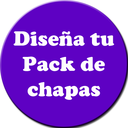 Pack de chapas personalizado