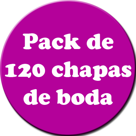 Pack 120 Chapas color
