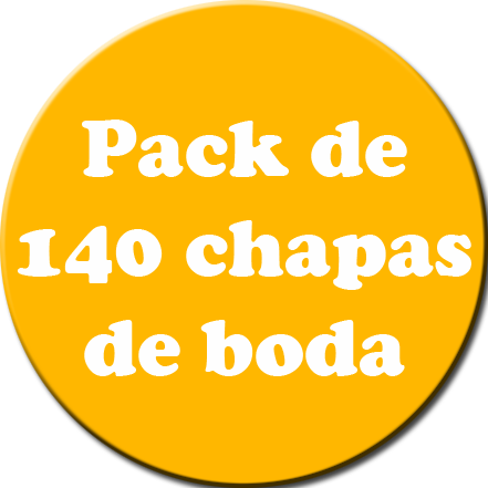 Pack 140 Chapas color
