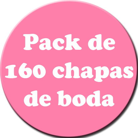 Pack 160 Chapas color