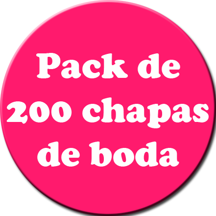Pack 200 Chapas color