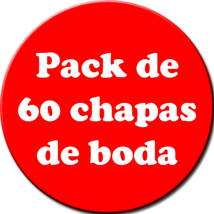 Pack 60 Chapas color